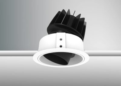 Tenus Snoot Round Tilt- white-black