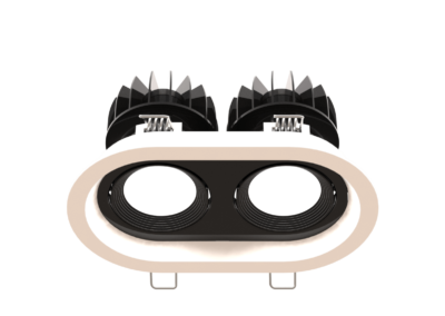 TWIN ROUND BLACK+WHITE