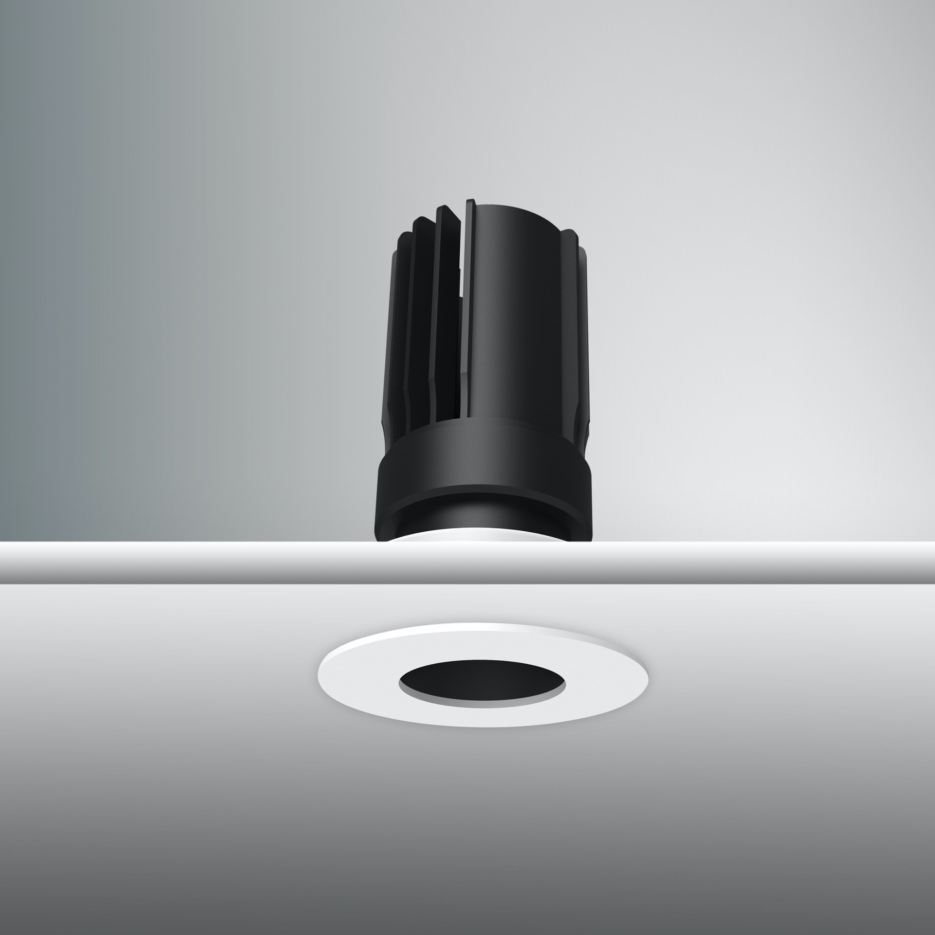Artech Infra recessed architectural Fixed and Tilt LED downlight with ingress protection IP44.