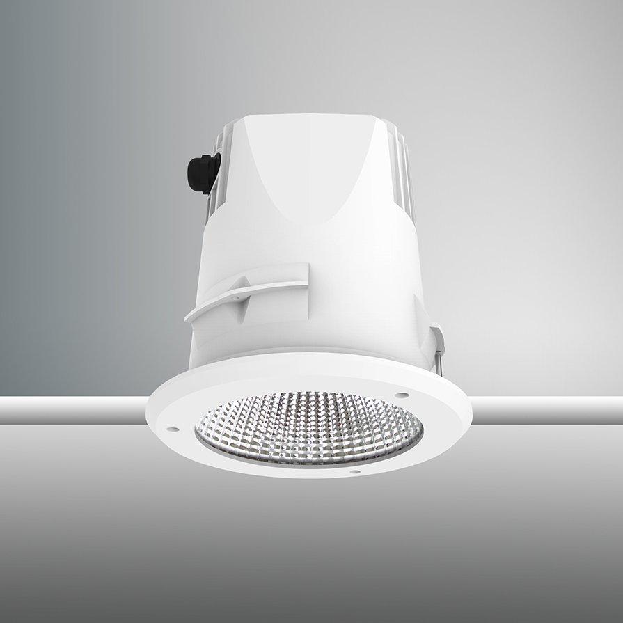 Tenus IP65 202mm Fixed White